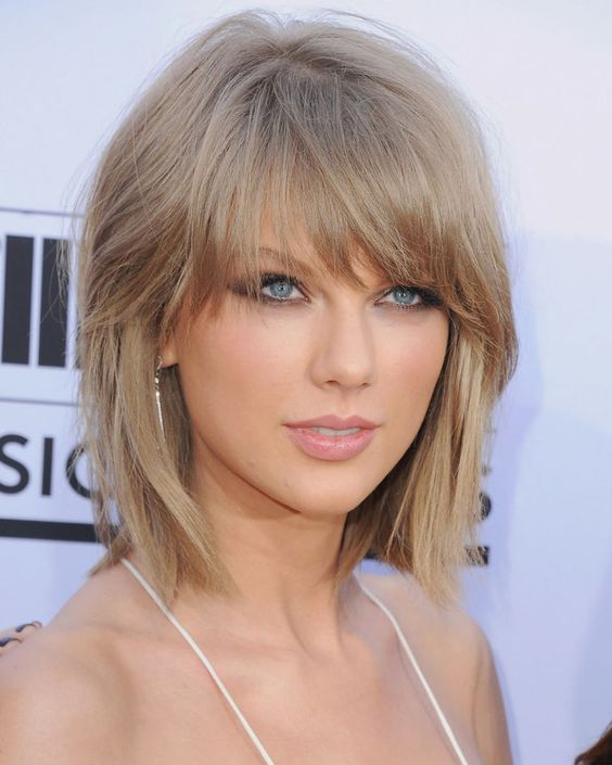 The 9 Biggest Hair Trends for Fall 2015-  The Swag -LOVE THIS Shaggy hair has gotten a 2015 makeover by way of The Swag, a term coined by celebrity stylist Sunnie Brook in an interview with Byrdie for long layers and peek-a-boo bangs of different lengths depending on your face shape.