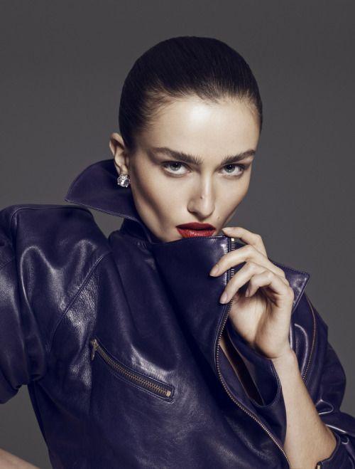 lelaid:    Andreea Diaconu by Paola Kudacki for Vamp Magazine...