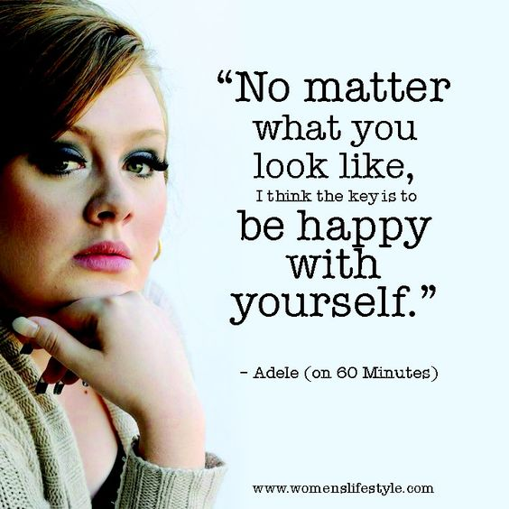 Don't compare yourself with others, just be happy with yourself!! Xoxo