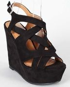Love this strappy little wedge