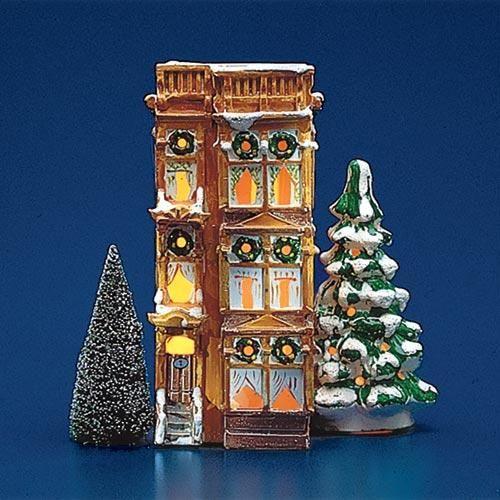 Dept 56 Christmas 2021 Brownstone In 2021 Christmas Village Display Christmas Village Collections Christmas Villages