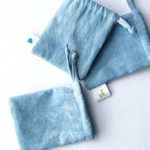Denim Sachet by Papers and Curls ♥