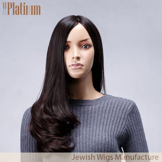 24 Inch #4 Unprocessed Remy European hair Kosher Wigs. More details, please contact us: reizi@qdbestwigs.com