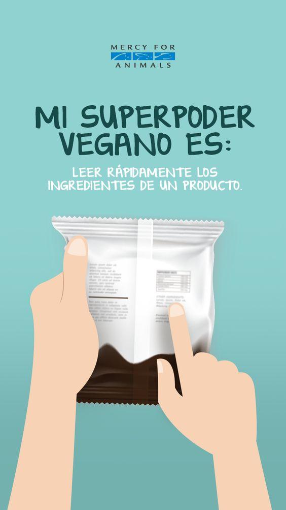 ¿Cuál es tu superpoder vegano?  🍏🍎🍌🍇