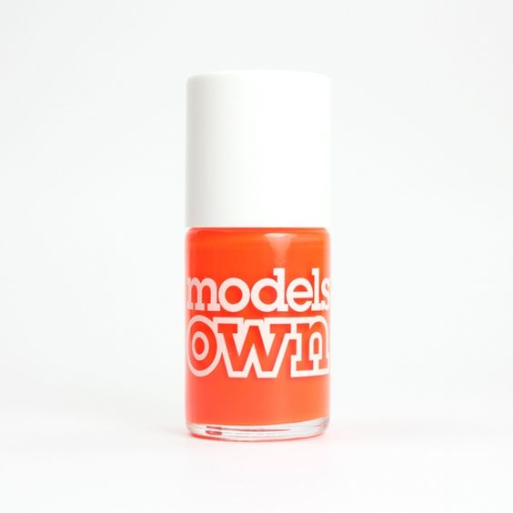 MODELS OWN Fluro' Orange, vernis orange fluo sur Bec & Ongles €5