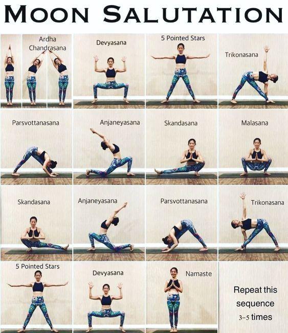 List Of Yoga Exercises Basic Yoga Yoga Routine Yoga Life