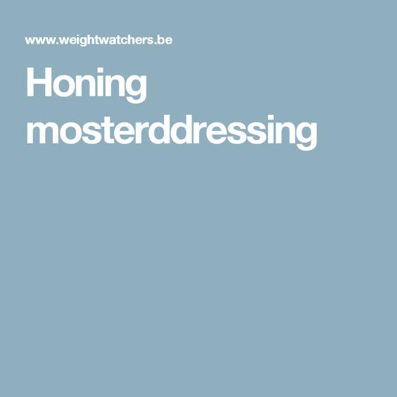 Honing mosterddressing