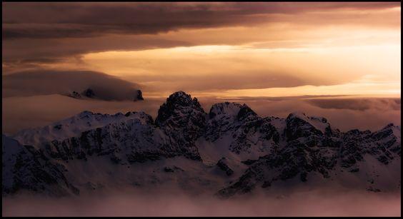 Mountain dreams. Dolomites, Italy. Winter. Автор: Vitaliy Rage