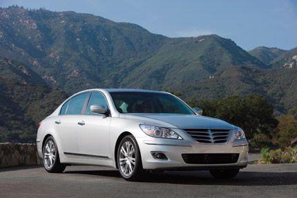 Genesis é o médio premium mais confiável    No estudo da J.D. Power and Associates, o Hyundai Genesis sedan recebe as notas mais altas em seu primeiro ano de avaliação