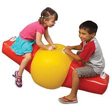 Smiletime Toys Inflatable See Saw only $9.99 at Toys R Us today!