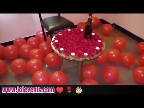 Birthday Surprise Ideas For Husband Romantic Decoration Youtube