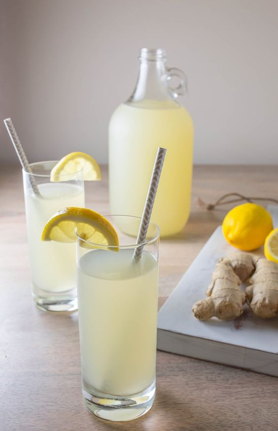 Ginger And Lemon Drink