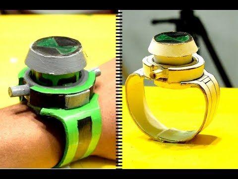 Make A Ben 10 Alien Force Omnitrix Recalibrated Watch Diy Youtube Ben 10 Watch Diy Ben 10 Alien Force