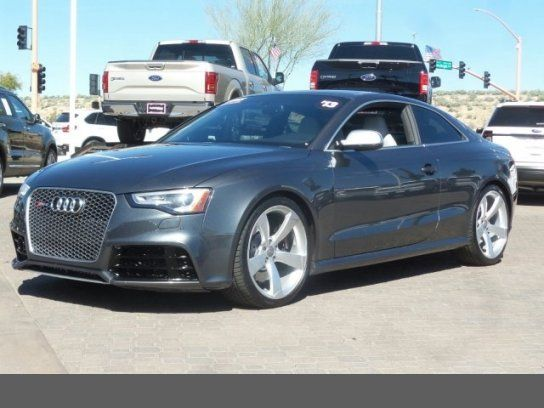 Coupe 2013 Audi Rs 5 Coupe With 2 Door In Peoria Az 85382 Audi Rs Audi Audi Cars