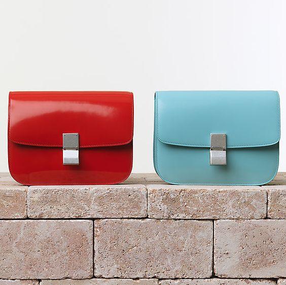 celine tote bag replica - Celine-Classic-Box-Handbag-Spazzolato-Vermilion   It BAG ...