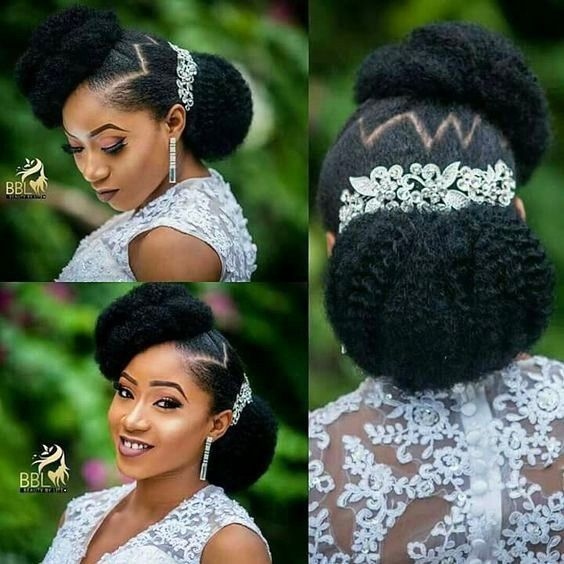 Stunning Styles Naturalista Brides Need To Try For Their Wedding Wedding Digest Naija Blog Natural Hair Wedding Bridal Hair Inspiration Natural Bridal Hair