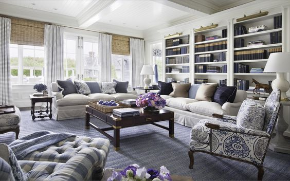 Brilliant Hamptons Family Room