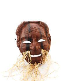 Mascara Velho do Teatro Noh 2, coletor feira de arte