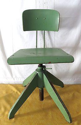 Art Deco_Bürostuhl_Drehstuhl_Schreibtischstuhl_Bauhaus Stuhl_Architektenstuhl | eBay