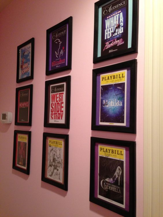 Playbill Display Home Style Pinterest Playbill