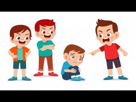 قصتي الشيقة بالفيديو والصوت عن التنمر ٢٧ ٨ Child Bullying Kids Cartoon Characters Friend Cartoon