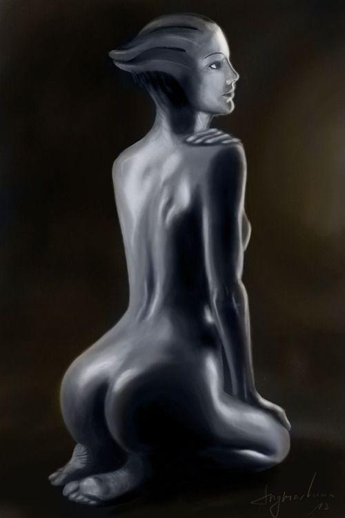 Mass Effect Liara Nackt Bilder 15