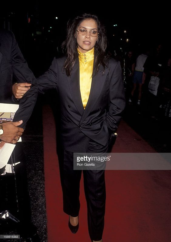 Singer Vanity attends Commitment to Life IV Benefiting AIDS Project Los Angeles on September 7, 1990 at the Wiltern Theater in Los Angeles, California.: