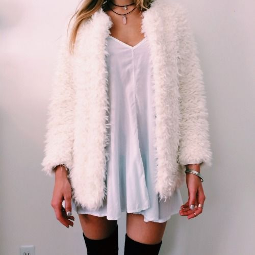 Oversized Fluffy Jacket from Creepy Cute Clothing