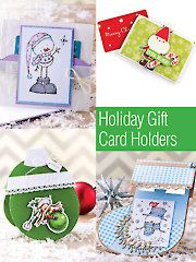 Card paper crafts holiday gift card holders ag01235 for Christmas card holder craft project