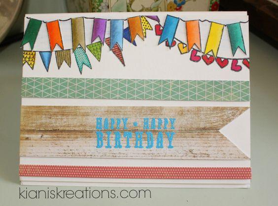 Kiani's Kreations - Birthday Card