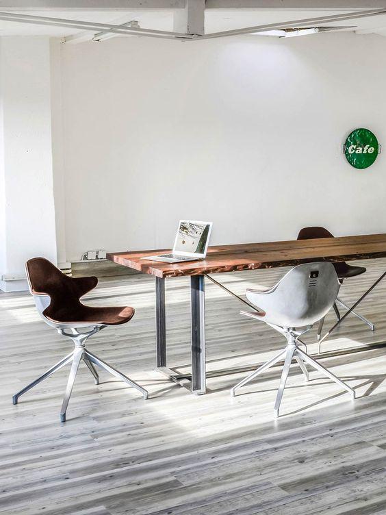 KFF Kirk Drehstuhl mit Armlehne & Echt-Lederbezug • KFF®-Shop • KwiK Designmöbel