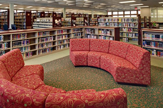 Money reading and lounges on pinterest - Library lounge chairs ...