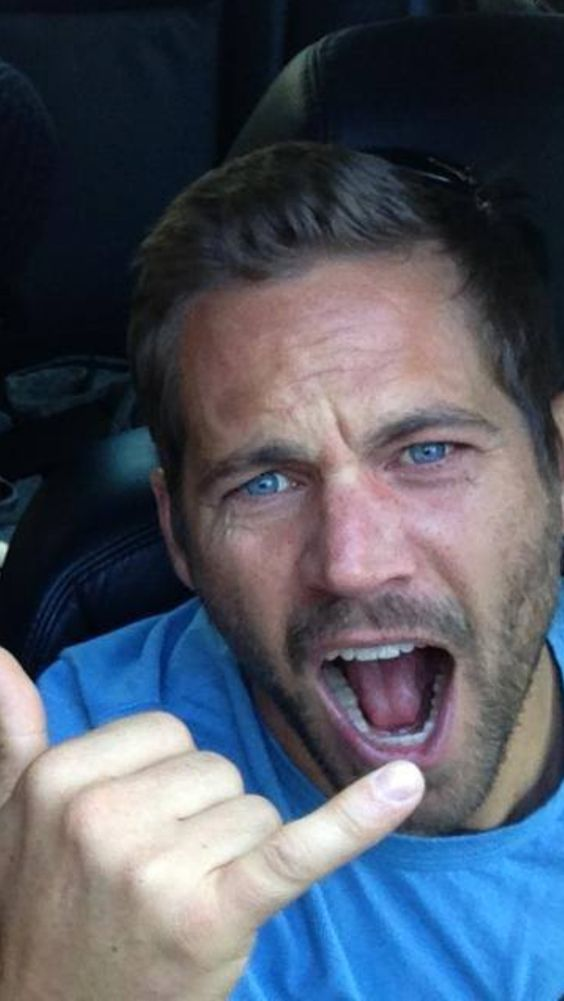 """Paul Walker...love that he knew how to live fearlessly but let's also learn to be careful so his death is not in vain...I pray for his daughter...he will always be missed...love this quote from him: """"that family and loved ones r healthy and happy is all that matters, all else is sprinkles on the sundae"""". yep! -Mari"""