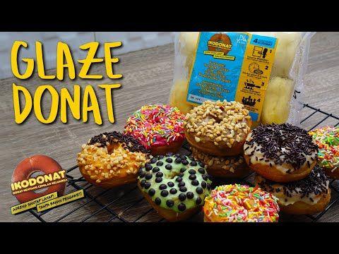 Cara Mudah Membuat Glaze Donat Warna Warni Manis Dan Cantik Youtube In 2020 Topping Donat Dunkin Toppings