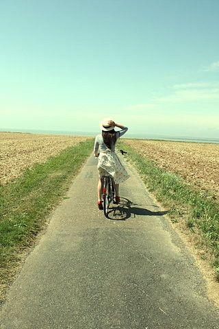 reminds me of summer bike rides
