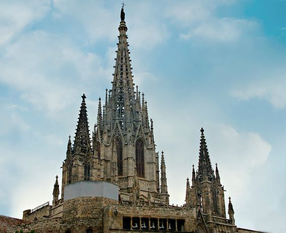 Detalles- catedral de barcelona