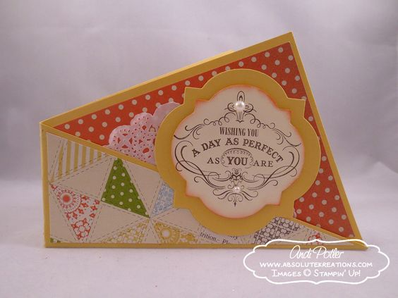 Vintag Verses Twisted Card by Andi Potler, Independent Stampin Up Demonstrator
