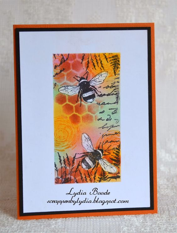 Scrappen and Cards by Lydia: Bee's