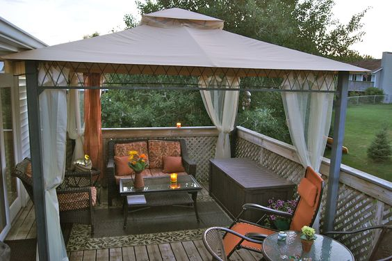 Possible solution to our upstairs balcony porch use the for Balcony canopy