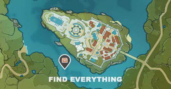 Genshin Impact Interactive World Map