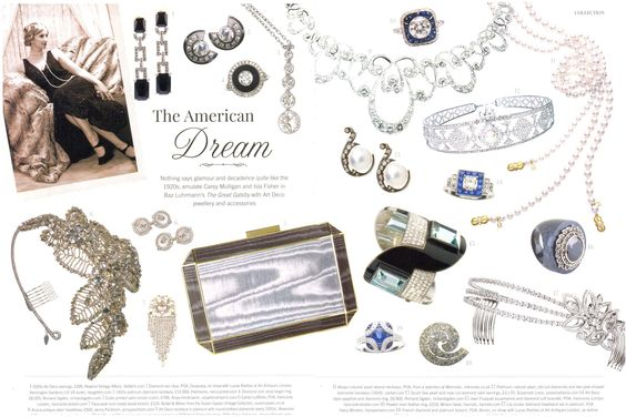 Our jewellery featured in Kensington & Chelsea Magazine