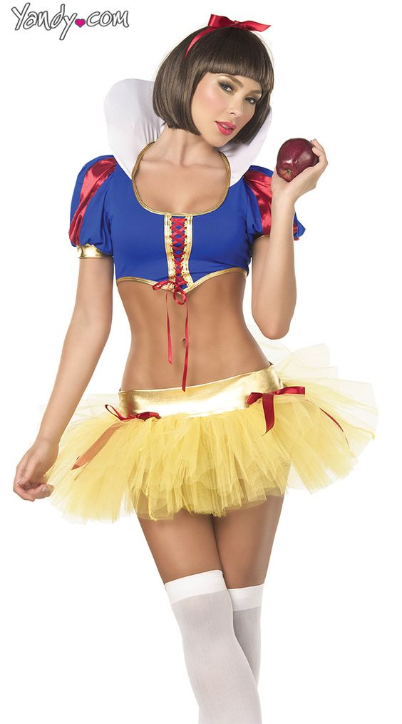 Amusing sexy snow white halloween down!