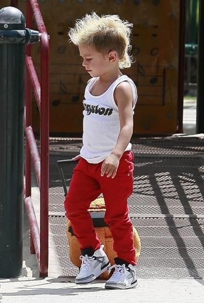 Kingston Rossdale is awesome.