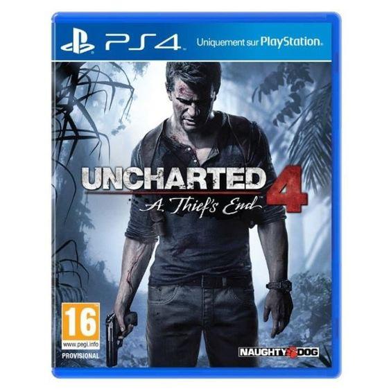 49 € ❤ #BonPlan #PS4 - #Uncharted4 : A Thief's End, le plus beau Jeu sur PS4 ➡ https://ad.zanox.com/ppc/?28290640C84663587&ulp=[[http://www.cdiscount.com/jeux-pc-video-console/ps4/uncharted-4-a-thief-s-end-jeu-ps4/f-1030401-uncharted4ps4.html?refer=zanoxpb&cid=affil&cm_mmc=zanoxpb-_-userid]]