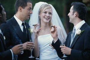 cigar brides | Bride smoking a cigar