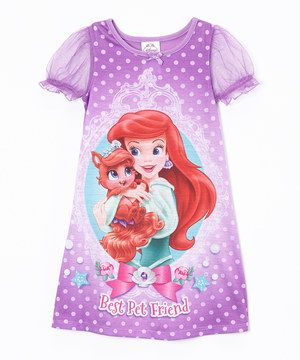 Look what I found on #zulily! Palace Pets Purple Ariel Palace Pet Nightgown - Toddler by Palace Pets #zulilyfinds