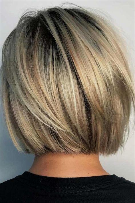 Bobhaircut Haarschnitt Bob Bob Frisur Haarschnitt