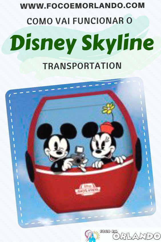 Como vai funcionar o Disney Skyliner Transportation