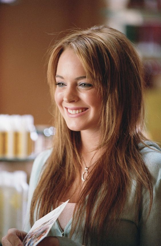 Lindsay Lohan en Mean Girls