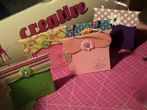 how to make a paper purse bag